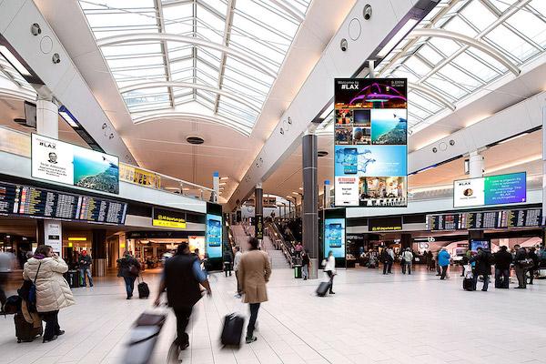 Venues Airport Screen