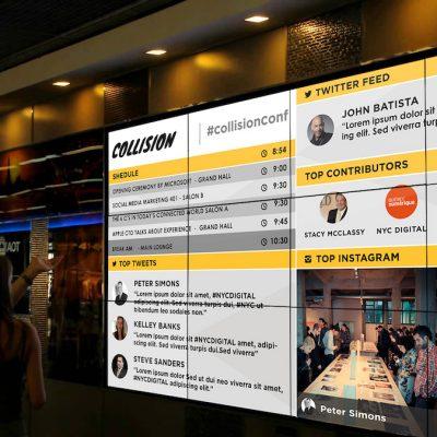 Venue Collisioninside Schedule Screen