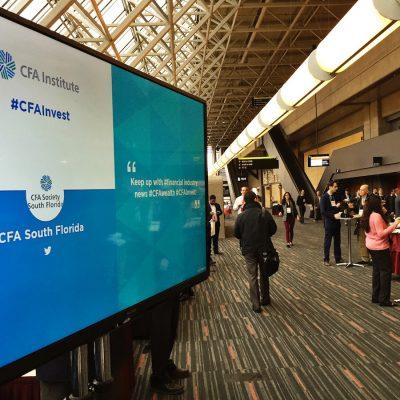 Venue Event CFA screen
