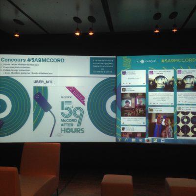 Venue Event Screen Mc Cord
