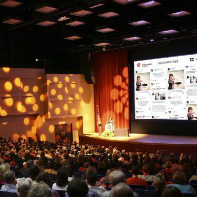 Venue Event Frontwall Screen Les Affaires
