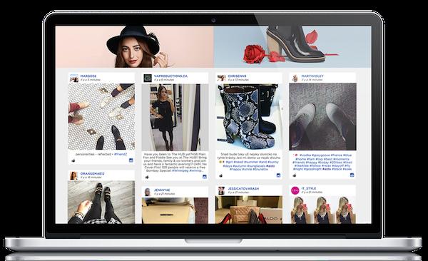 Laptop Screen Clothes Social Medias