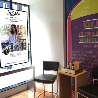 Kiehls Store Screen