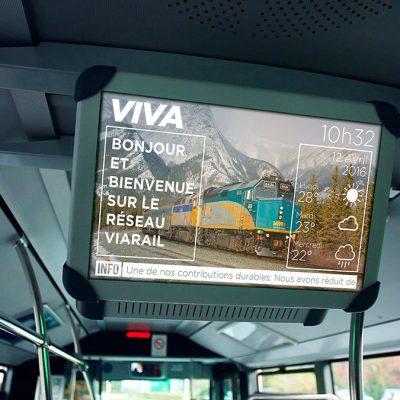 Transportation Viva Screen Bus