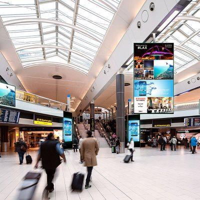 Transporation Airport Screen