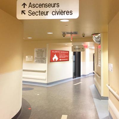 Healthcare Hospital Corridor