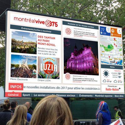 Street City Big Screen