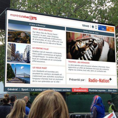 Street Big Screen